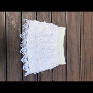 American Rag crime crochet skirt